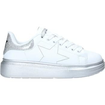 Cipők Női Rövid szárú edzőcipők Shop Art SA050116 Fehér