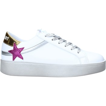 Cipők Női Rövid szárú edzőcipők Shop Art SA050129 Fehér