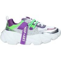 Cipők Női Rövid szárú edzőcipők Shop Art SA050143 Ibolya