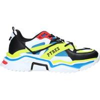 Cipők Női Rövid szárú edzőcipők Pyrex PY050143 Fekete