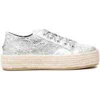 Cipők Női Gyékény talpú cipők Café Noir DG9570 Fehér