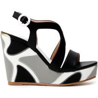 Cipők Női Szandálok / Saruk Café Noir HE9140 Fekete