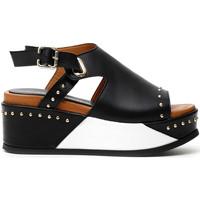 Cipők Női Szandálok / Saruk Café Noir HH1370 Fekete