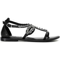 Cipők Női Szandálok / Saruk Café Noir XB1070 Fekete