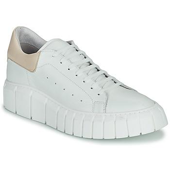 Cipők Női Rövid szárú edzőcipők Sweet Lemon PLANTO Fehér / Bézs