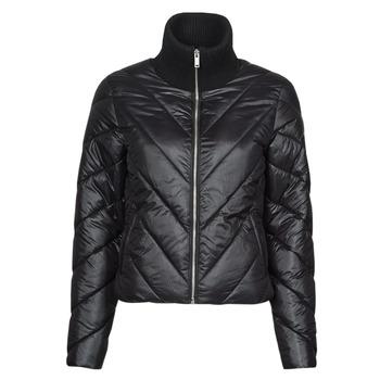 Ruhák Női Steppelt kabátok Ikks DAMIA Fekete