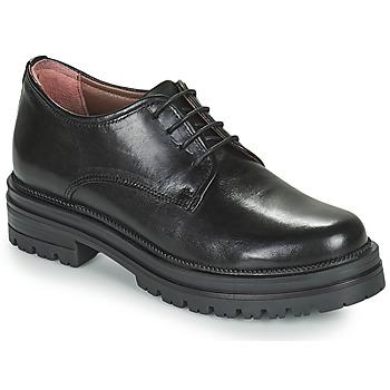 Cipők Női Oxford cipők Mjus DOBLE DERBY Fekete