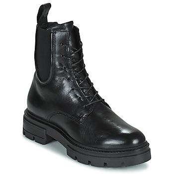 Cipők Női Csizmák Mjus BEATRIX LACE Fekete
