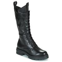 Cipők Női Városi csizmák Mjus BEATRIX HIGH Fekete