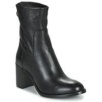 Cipők Női Bokacsizmák Mjus NITRO Fekete