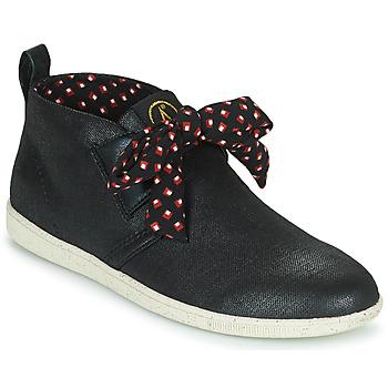 Cipők Női Magas szárú edzőcipők Armistice STONE MID CUT W Fekete