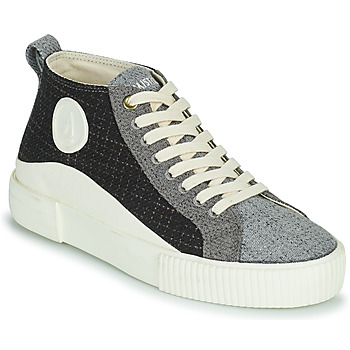 Cipők Női Magas szárú edzőcipők Armistice FOXY MID LACE W Fekete