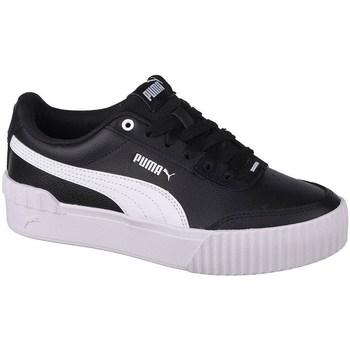 Cipők Női Rövid szárú edzőcipők Puma Carina Lift Fekete