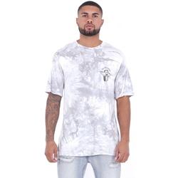 Ruhák Férfi Rövid ujjú pólók Sixth June T-shirt  Custom Tie Dye blanc/rose