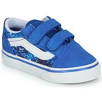 Cipők Fiú Rövid szárú edzőcipők Vans OLD SKOOL Kék