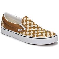 Cipők Férfi Belebújós cipők Vans CLASSIC SLIP ON Barna / Bézs