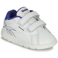 Cipők Fiú Rövid szárú edzőcipők Reebok Classic RBK ROYAL COMPLETE Fehér / Kék