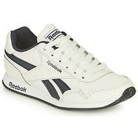 Cipők Gyerek Rövid szárú edzőcipők Reebok Classic REEBOK ROYAL CLJOG Fehér / Fekete