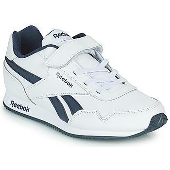 Cipők Gyerek Rövid szárú edzőcipők Reebok Classic REEBOK ROYAL CLJOG Fehér / Tengerész