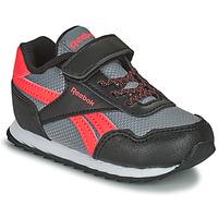 Cipők Gyerek Rövid szárú edzőcipők Reebok Classic REEBOK ROYAL CLJOG Fekete  / Piros