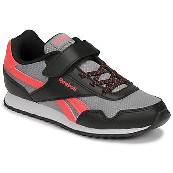 Cipők Fiú Rövid szárú edzőcipők Reebok Classic REEBOK ROYAL CLJOG Fekete  / Piros