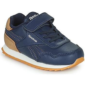 Cipők Fiú Rövid szárú edzőcipők Reebok Classic REEBOK ROYAL CLJOG Tengerész / Barna
