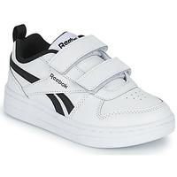 Cipők Gyerek Rövid szárú edzőcipők Reebok Classic REEBOK ROYAL PRIME Fehér / Fekete