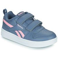 Cipők Lány Rövid szárú edzőcipők Reebok Classic REEBOK ROYAL PRIME Tengerész / Rózsaszín