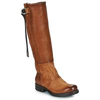 Cipők Női Városi csizmák Airstep / A.S.98 SAINTEC HIGH Teve