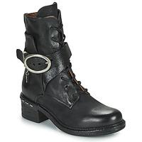 Cipők Női Bokacsizmák Airstep / A.S.98 NOVASUPER LACE Fekete
