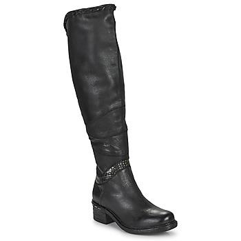 Cipők Női Combcsizmák Airstep / A.S.98 NOVASUPER HIGH Fekete
