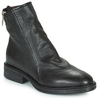 Cipők Női Csizmák Airstep / A.S.98 FLOWER ZIP Fekete