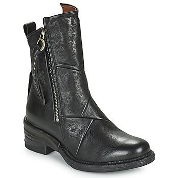Cipők Női Csizmák Airstep / A.S.98 MIRACLE ZIP Fekete