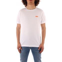 Ruhák Férfi Rövid ujjú pólók Refrigiwear JE9101-T27100 WHITE