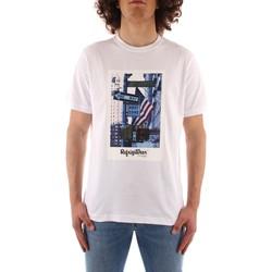 Ruhák Férfi Rövid ujjú pólók Refrigiwear JE9101-T24400 WHITE