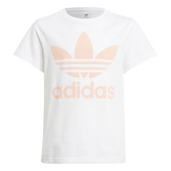 Ruhák Gyerek Rövid ujjú pólók adidas Originals VAGUO Fehér