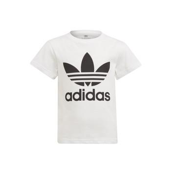Ruhák Gyerek Rövid ujjú pólók adidas Originals FLORE Fehér