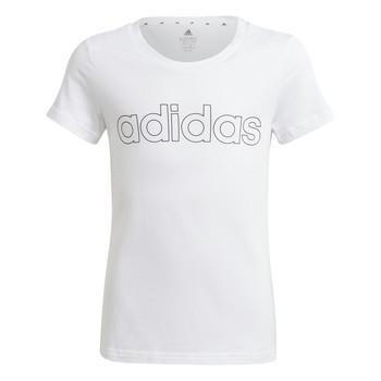 Ruhák Lány Rövid ujjú pólók adidas Performance HOLLIA Fehér