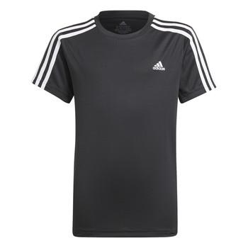 Ruhák Fiú Rövid ujjú pólók adidas Performance MARIONA Fekete