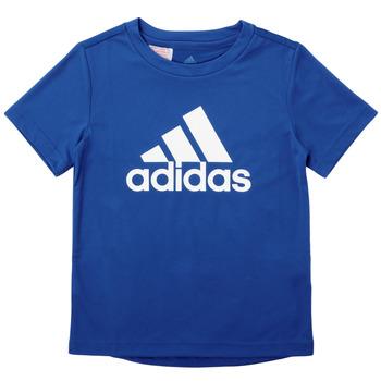 Ruhák Fiú Rövid ujjú pólók adidas Performance CLAUDIA Kék