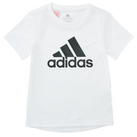 Ruhák Fiú Rövid ujjú pólók adidas Performance NADEGE Fehér