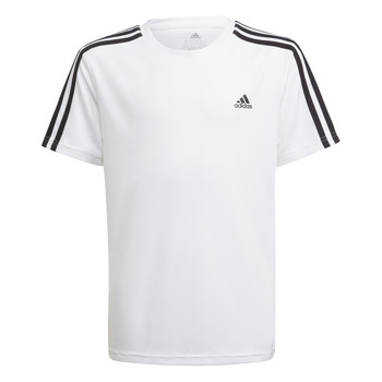 Ruhák Fiú Rövid ujjú pólók adidas Performance AYMERICA Fehér