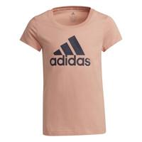 Ruhák Lány Rövid ujjú pólók adidas Performance ALBERIC Rózsaszín