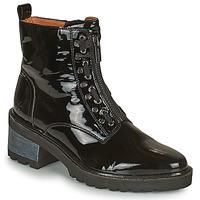 Cipők Női Csizmák Mam'Zelle QUITO Fekete