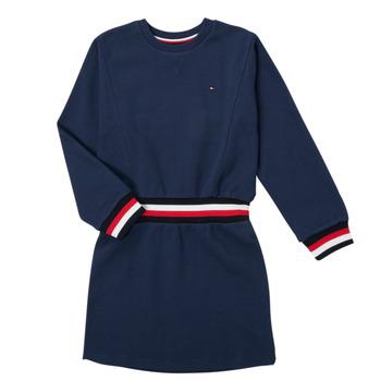 Ruhák Lány Rövid ruhák Tommy Hilfiger ARNO Tengerész
