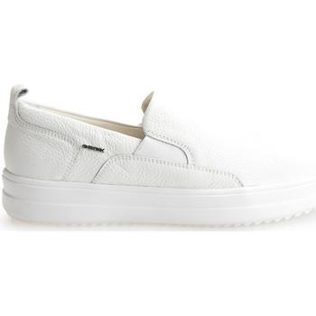 Cipők Férfi Belebújós cipők Geox  Fehér