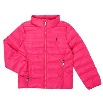 Ruhák Lány Steppelt kabátok Polo Ralph Lauren DERNIN Rózsaszín