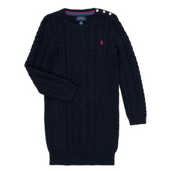 Ruhák Lány Rövid ruhák Polo Ralph Lauren CINEMAR Tengerész