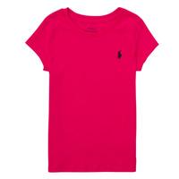 Ruhák Fiú Rövid ujjú pólók Polo Ralph Lauren ASKIRA Rózsaszín