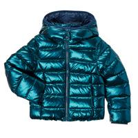 Ruhák Lány Steppelt kabátok Polo Ralph Lauren AMINAT Tengerész